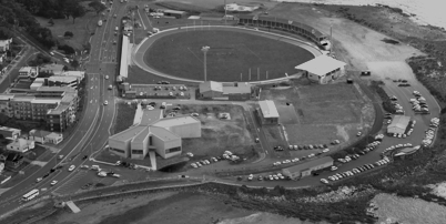 Aerial of west park and makers copy thumb bw2